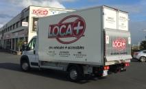 véhicule utilitaire categorie 6 - 22 m3 avec hayon - loca +